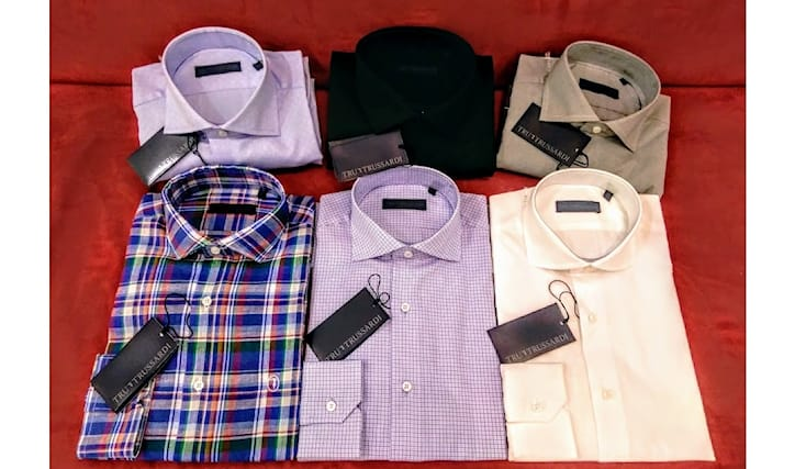 timeless design e94b0 23c3e Il negozio criba propone questa fantastica offerta per camicie uomo  trussardi, 100% cotone di varia fantasia a soli 32€ anziché 110€!