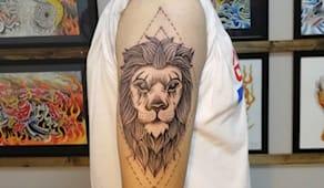 -50% green valley tattoo