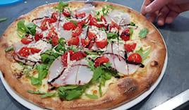 Gratis: pizza+bibita x2
