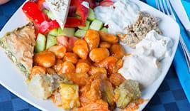 Omaggio cena greca per 2