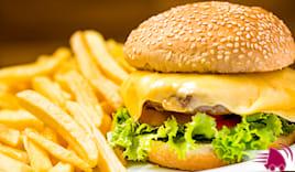 Menù hamburger x2 mareblu