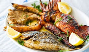 Menù grigliata pesce x2