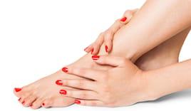 Semi mani+piedi omaggio