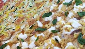 Pizza al taglio 16 pezzi