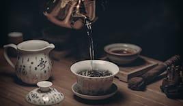Tè pregiati sfusi offerta