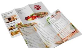 1000 brochures pieghevole