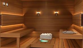 2 ore di sauna f.c.