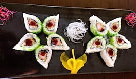 Menu sushi cotto