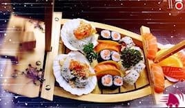 40pz sushi a domicilio