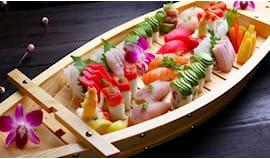 Menù barca sushi cueva x2
