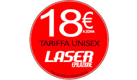Laser 18€ a zona