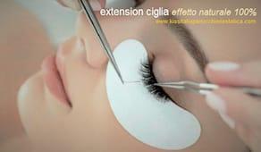 Extension ciglia kiss
