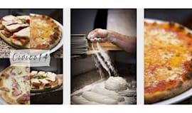 Pizza+bibita+caffè x2
