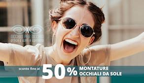 -50% sugli occhiali !!