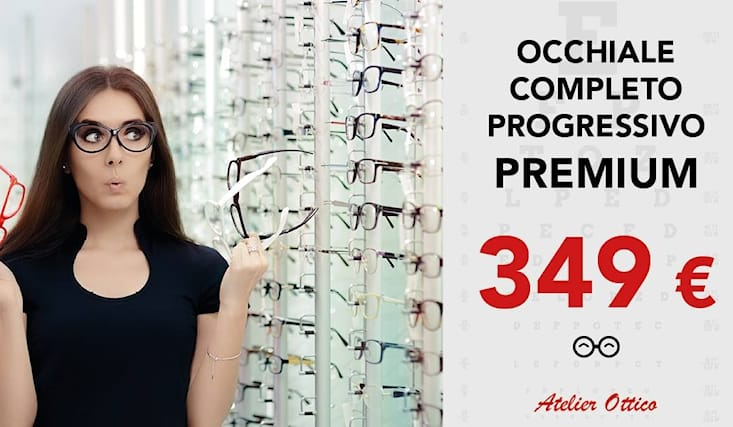 Buoni prezzi migliori offerte su disponibile Occhiali progressivi 349€ invece che 879€