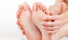 Omaggio trattamento piedi