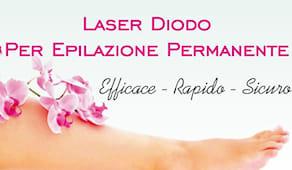 Epilazione laser diodo
