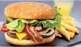 Menù baconburger completo