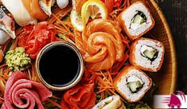 Sushi time 40pz domicilio