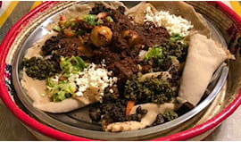 Menù pranzo eritreo