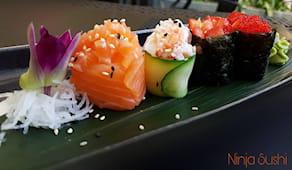 Cena da ninja sushi