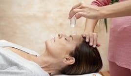Massaggio quarzo rosa