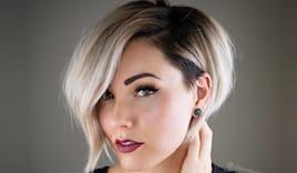 Taglio piega moda capelli