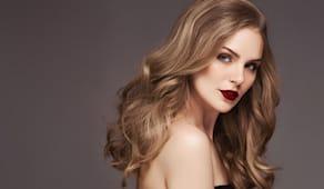 Colore piega moda capelli