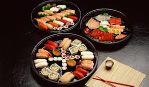 Sushibox take-away sakana