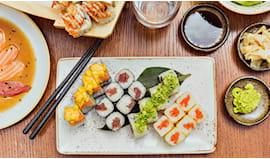 Degustazione sush omaggio