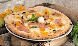 2 pizze gourmet omaggio