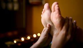 Massaggio ayurveda piedi