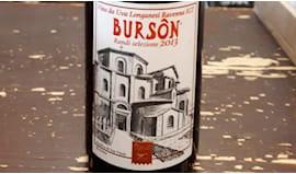 Bottiglia di burson 2013