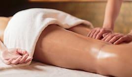 Massaggio drenroll gambe