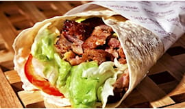 Menù piadina king kebab
