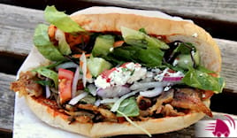 Menù panino king kebab