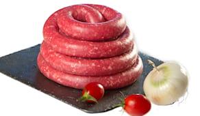 Salsiccia manzo 4,90€/kg