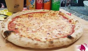 Pizza+bibita d'asporto