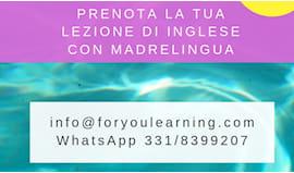 Lezione inglese online