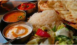 Menù indiano naan