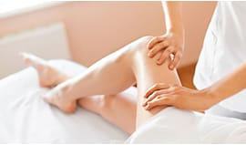 Massaggio gambe omaggio