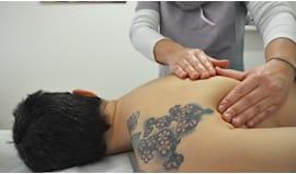 Massaggio schiena gambe