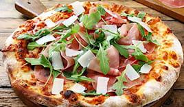 Pizza x 2 villa cupido