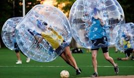 Partita bubble football