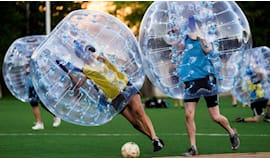 Partita bubble football