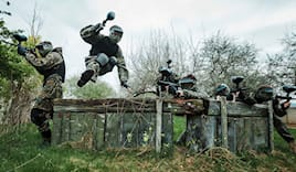 Paintball compleanno out