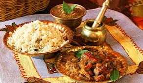 Menù pranzo indiano pooja