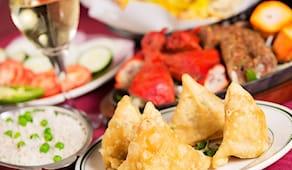 Menù buffet indiano pooja