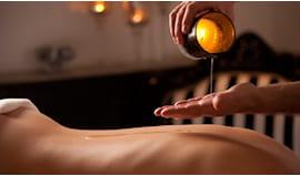 Massaggio con candela