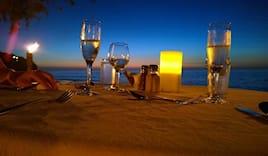 Ape barca+ cena spiaggia